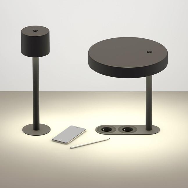 Dumbbell / desk lamps