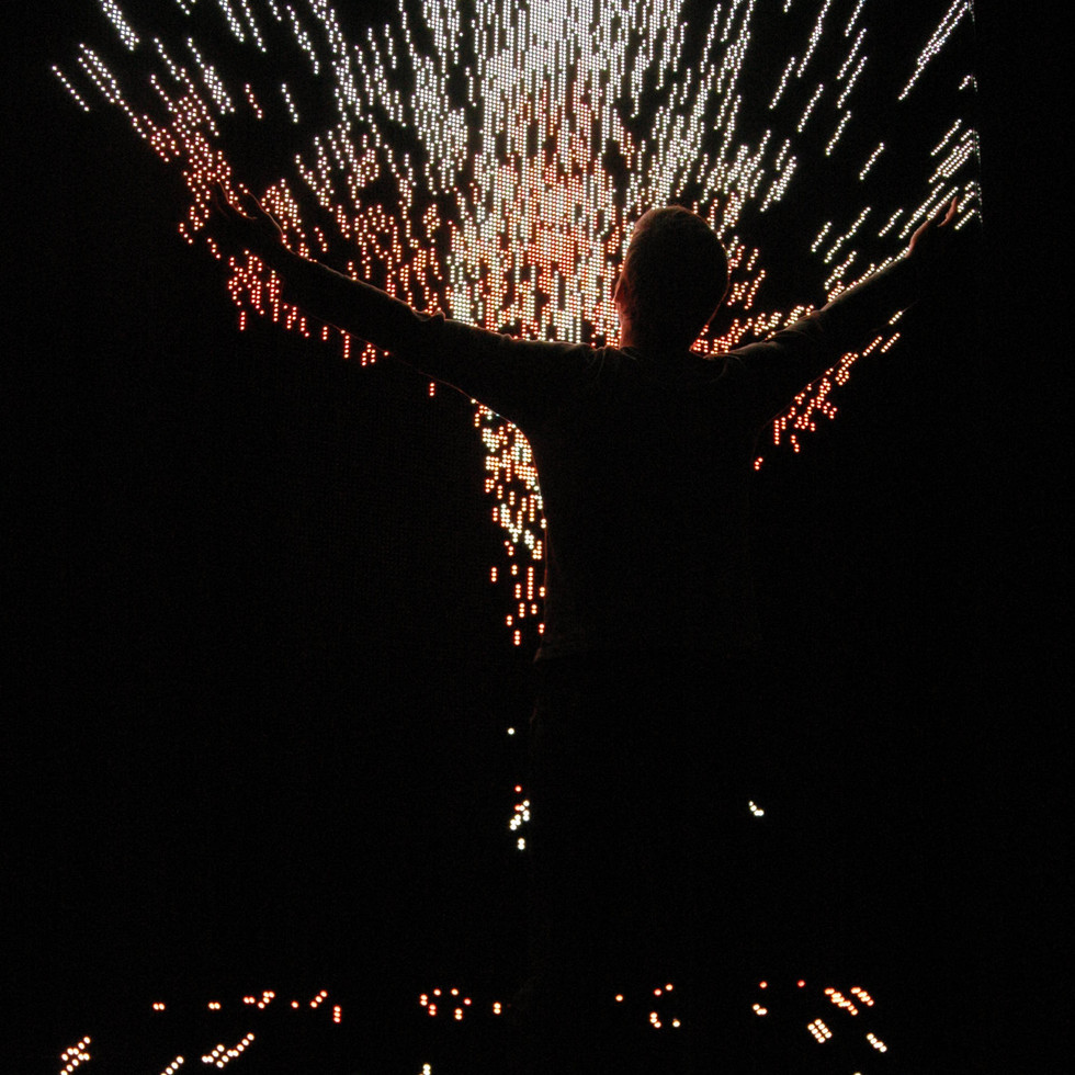 Burn box / '24-7 noche' / brand activation