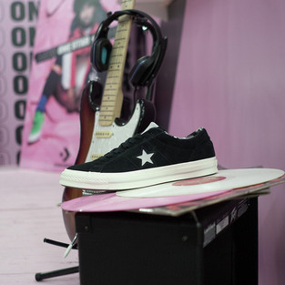 Converse / 'Rated one star' / shoe presentation