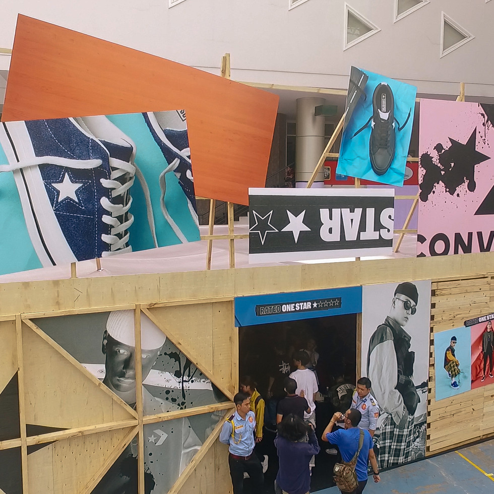 Converse / 'Rated one star' / pavilion
