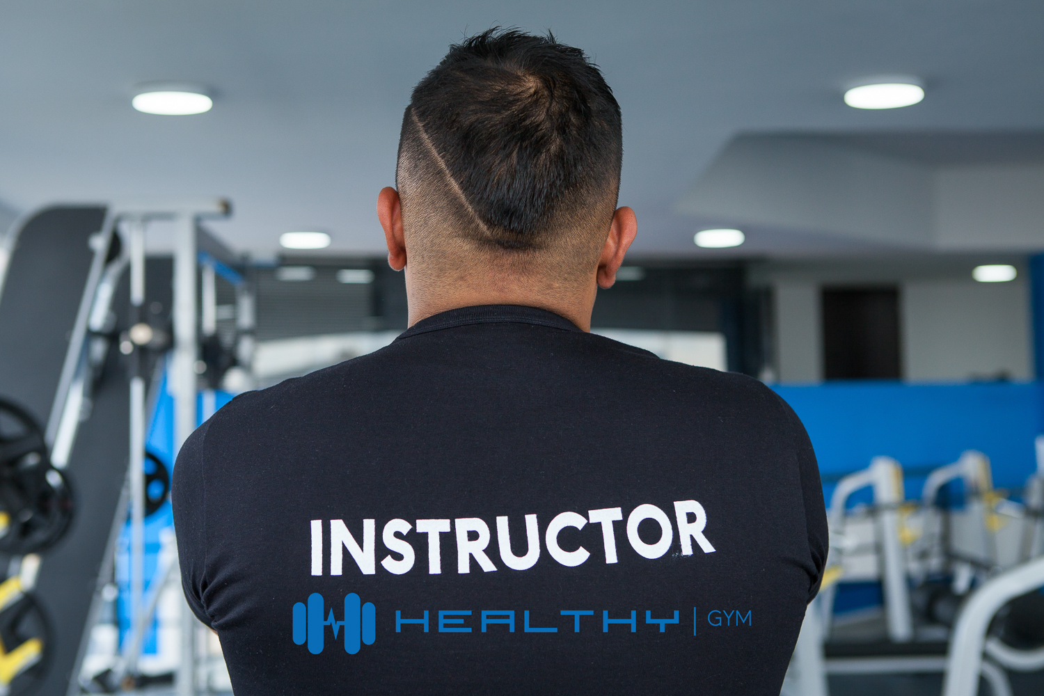 Healthy Gym Instructor