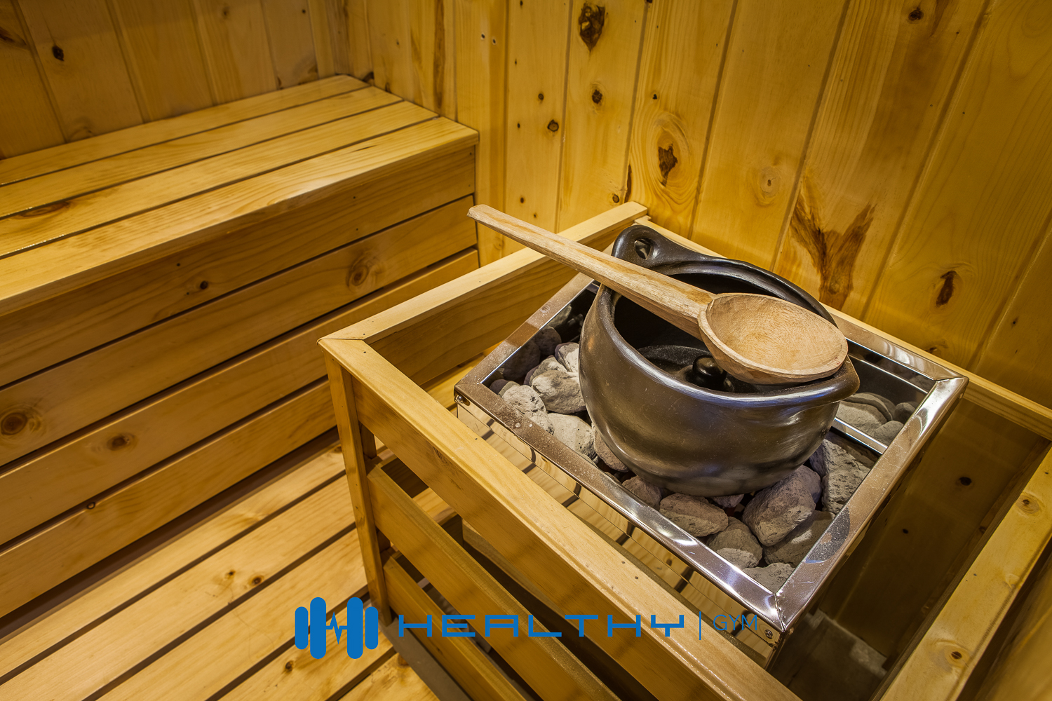 Healthy Gym Sauna