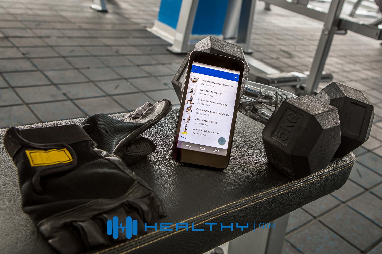 Healthy Gym app