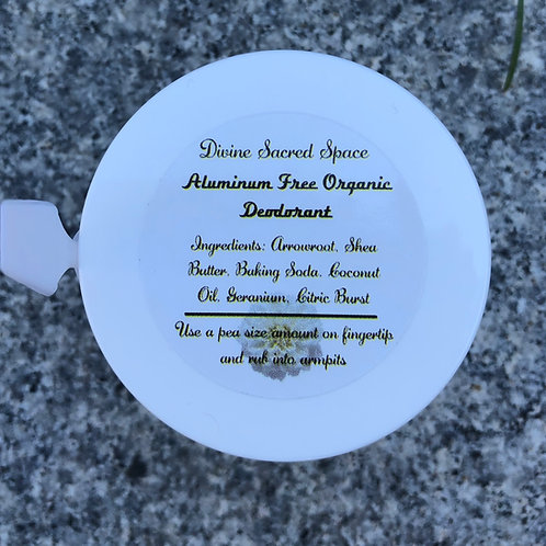 Aluminum Free Organic Deodorant