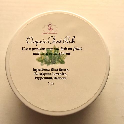 Organic Chest Vapor Rub