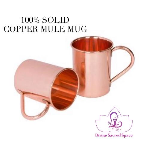 100% Copper Mule Mug