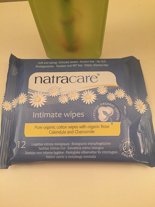 Natracare Organic Feminine Wipes