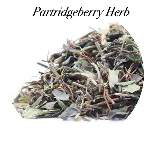 Partridgeberry Herb