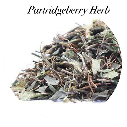 Partridgeberry Herb