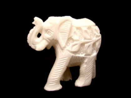White Stone Elephant Stick/Cone Burner