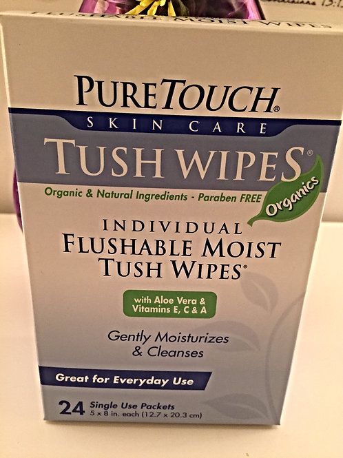 Pure Touch Tush Wipes