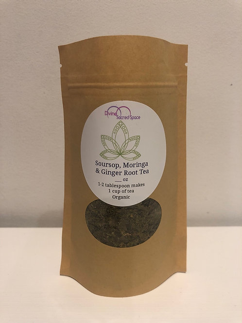 Immunity Tea - Soursop, Moringa, Ginger Root