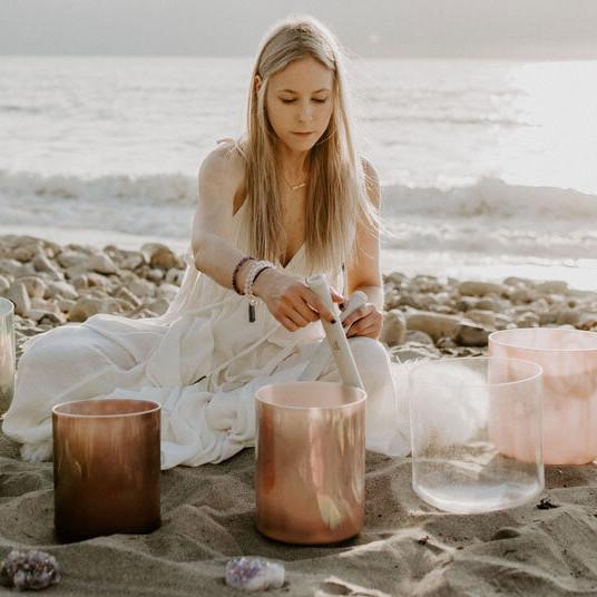 Inner Peace Crystal Alchemy Sound Bath with Heather