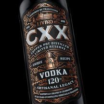 CXX (120) ANNIVERSARY VODKA
