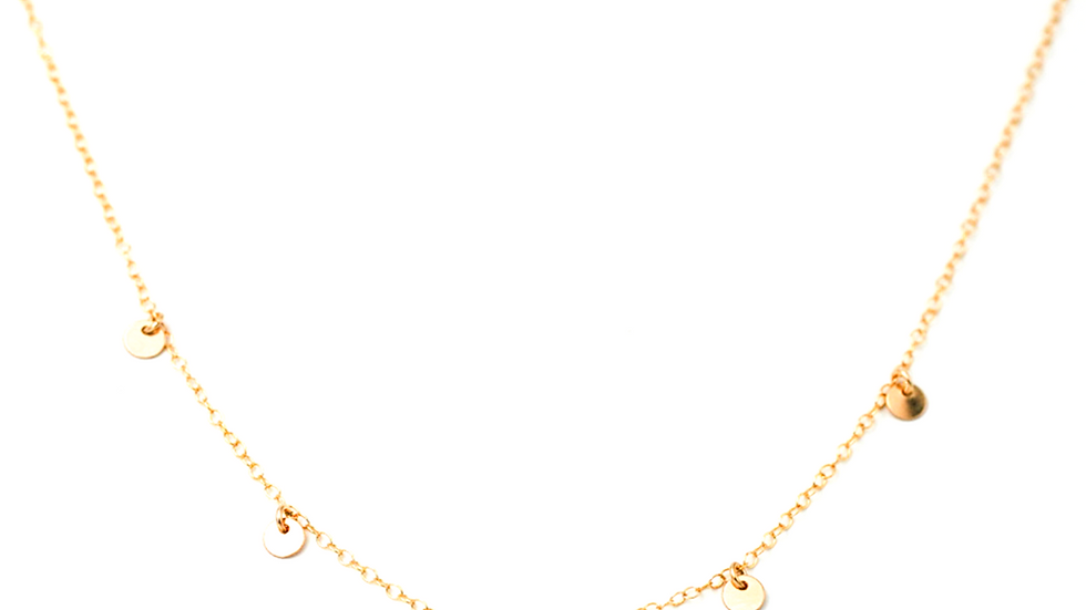 5 Coin Necklace