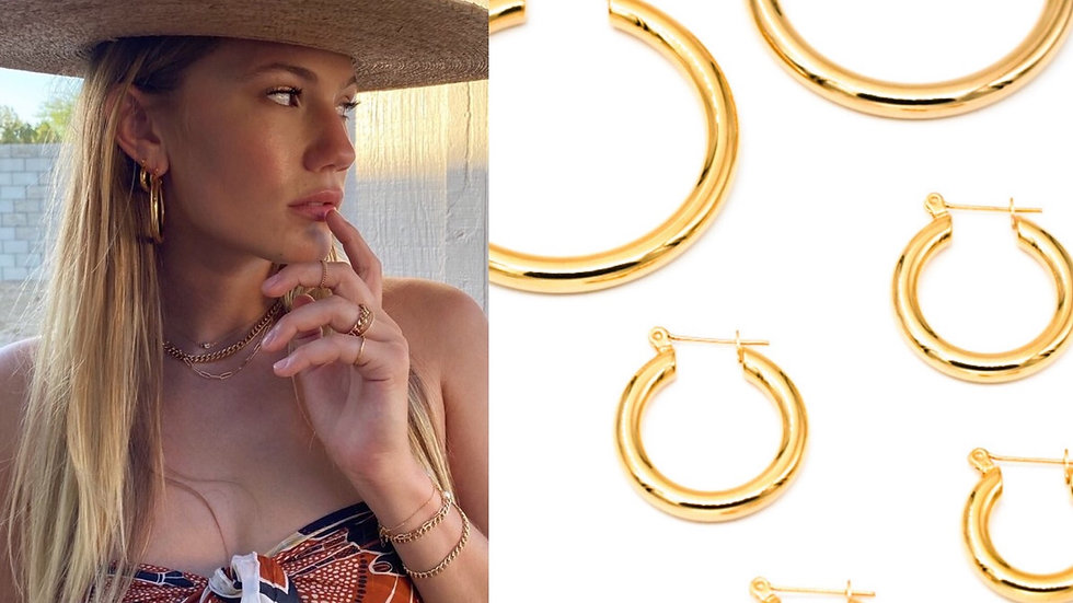 Mayson Hoop Earrings