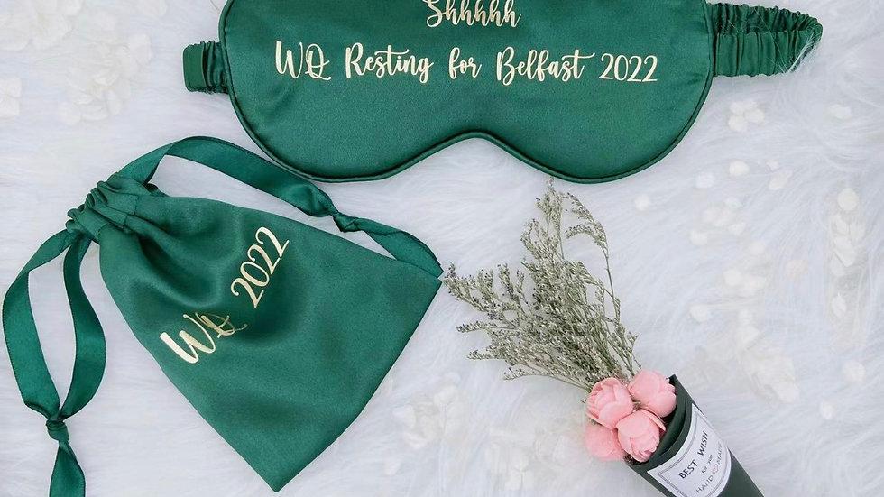 Satin Sleep Mask w/storage bag