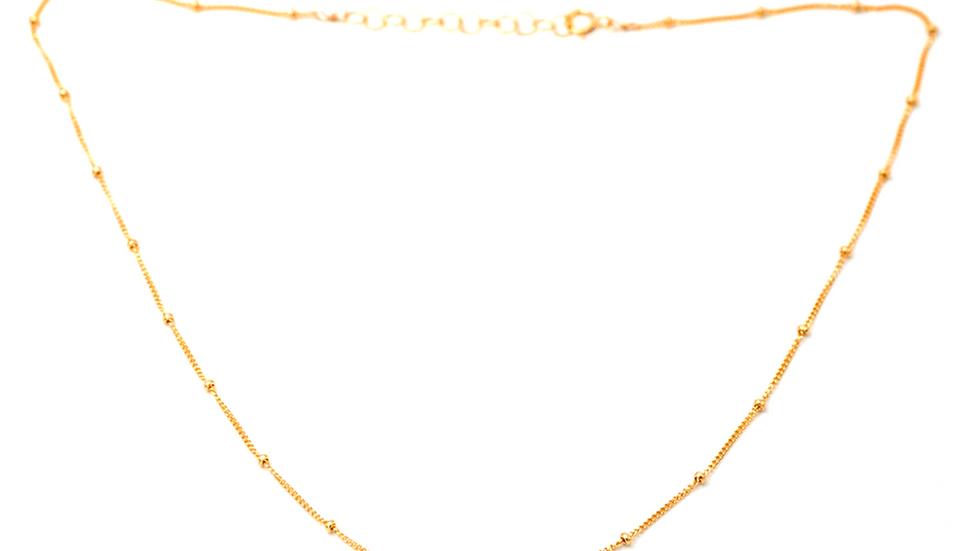 Dotted Choker Chain