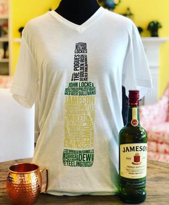 Whiskey's of Ireland Signature Deluxe Tee