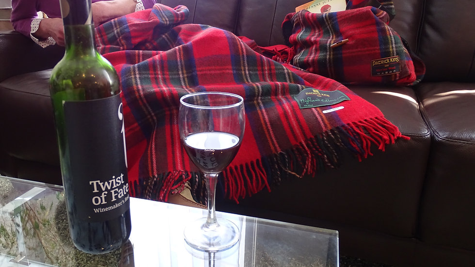Deluxe Highland Blanket by Patrick King