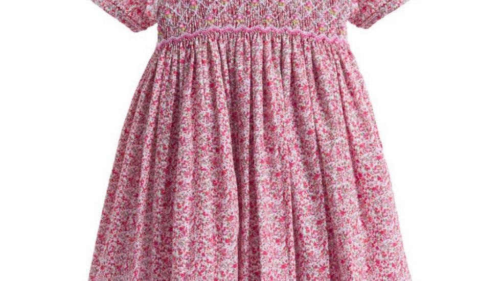 Thumbelina smocked dress by Annafie London Ltd.