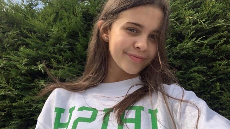 The Lara Varsity Cropped Sweatshirt ™️