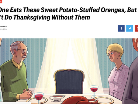 Thrillist.Com: Why Thanksgiving Means Sweet Potato Orange Balls