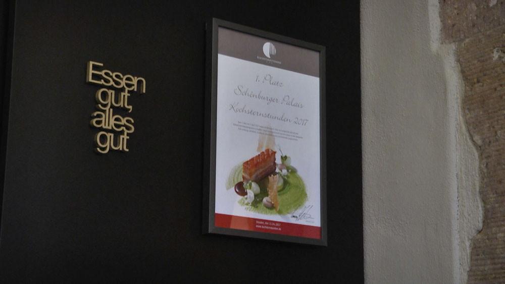 Abbildung des 1. Platzes Kochsternstundenmenü 2017 | Motto der Küche