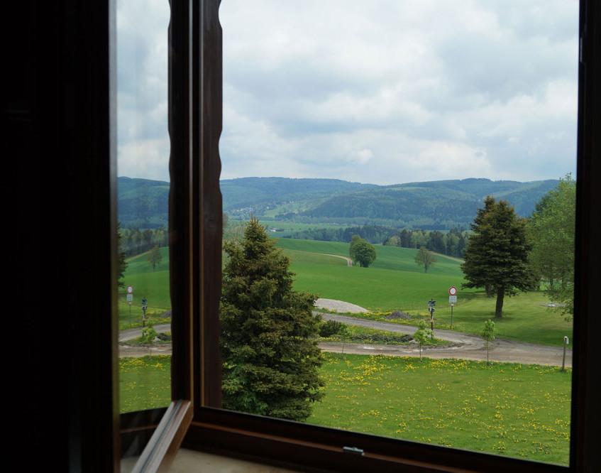 Fensterblick vom Zimmer