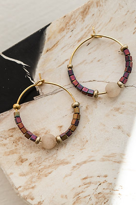 Arracades Aro Beads