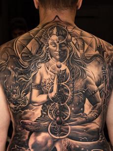 Lord Shiva Sati Tattoo | Aliens Tattoo