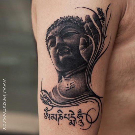 Gautam Buddha Tatto