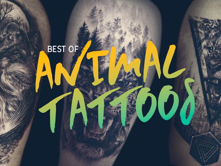 Inspiring Animal Tattoos for the Youth