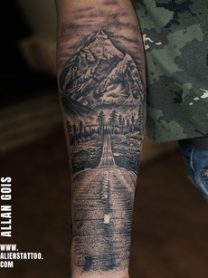 traveller-tattoo-mountain-road-tattoo-in