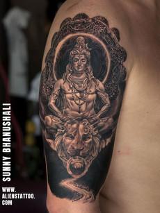 Lord Shiva Tattoo | Aliens Tatto