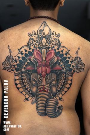 lord-ganesha-tattoo-spiritual-manadala-t