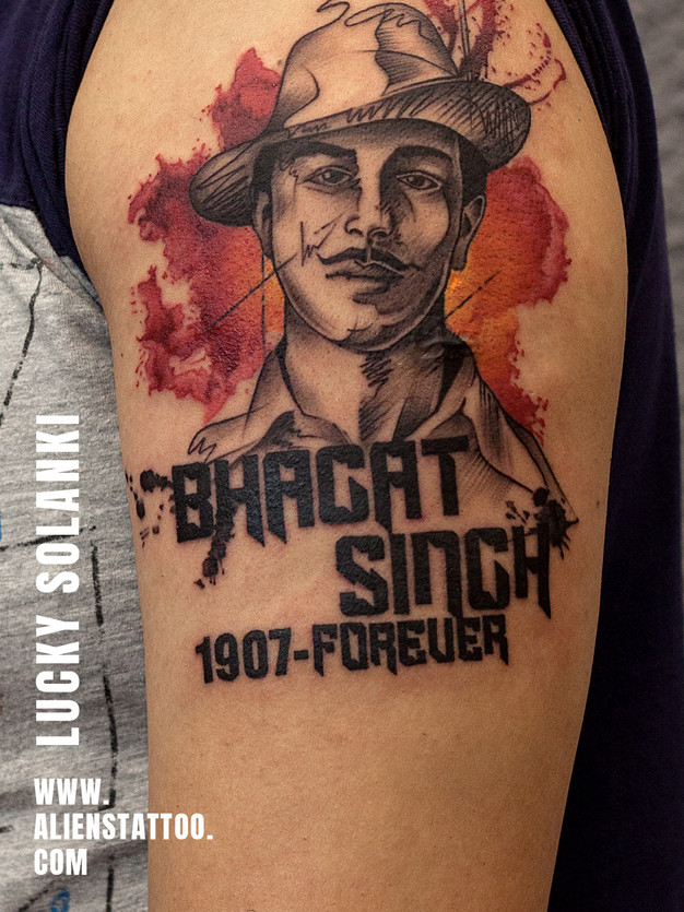 Tattoo by Lucky Solanki at Aliens Tattoo