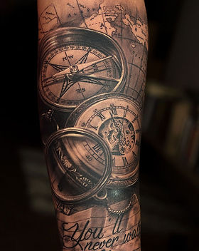 traveller-copass-tattoo-nautical-tattoo.