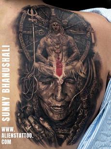 Lord Shiva Aghori Tattoo | Aliens Tattoo