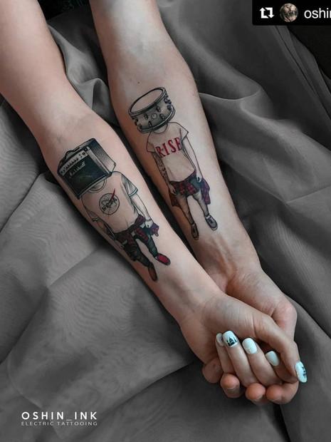 surreal-couple-tattoo