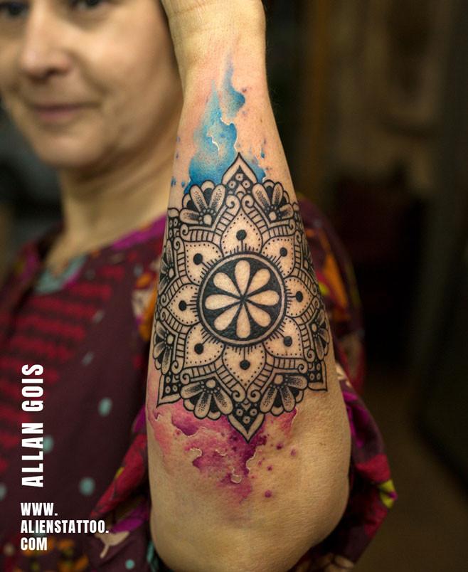 mandala-tattoo-water-colour-tattoo-insta