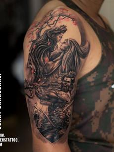 Lord Shiva Tattoo | Sunny Bhanushali
