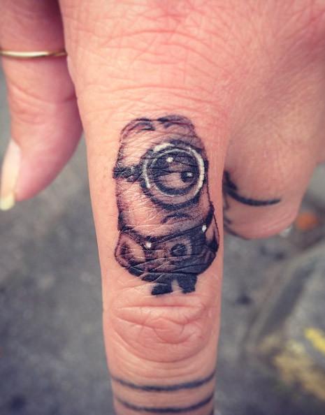 Minnion Couple Tattoo Ideas