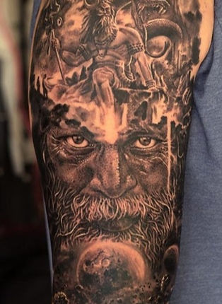 Religious Tattoo Aghori Shiva Tattoo