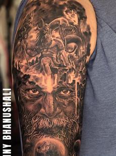 Lord Shiva Tattoo by Sunny Bhanushali