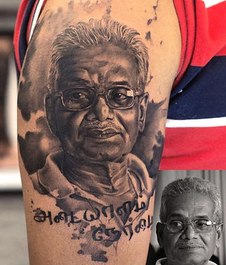 Best Potrait Tattoos By Aliens Tattoo