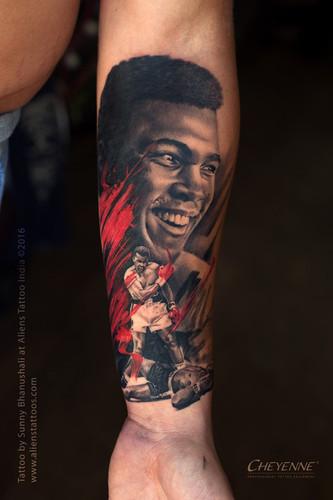 Muhammad Ali Tattoo