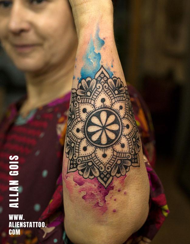 Tattoo by Allan Gois at Aliens Tattoo
