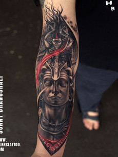 Shiva Tattoo Kali | Sunny Bhanushali