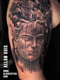 Shiva Tattoo Sad | Allan Gois